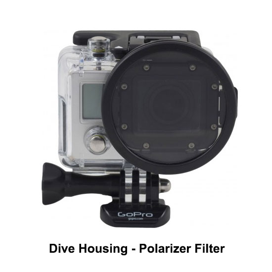 PolarPro Dive Housing Polarizer Filter