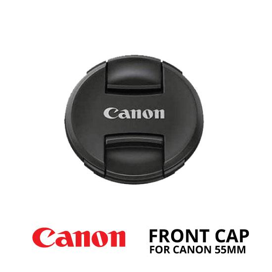 jual Front Cap Canon 55mm