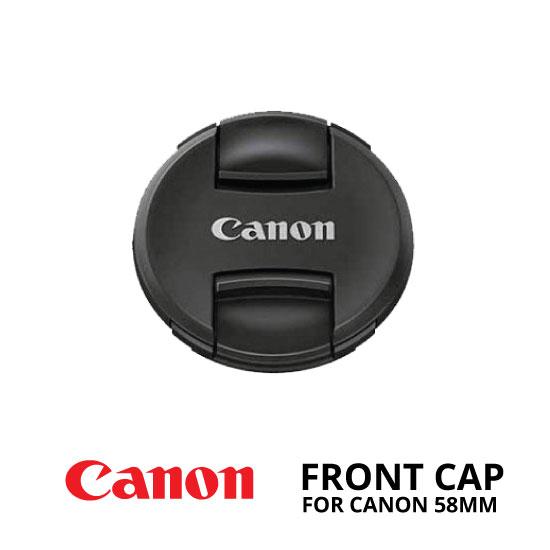 jual Front Cap Canon 58mm