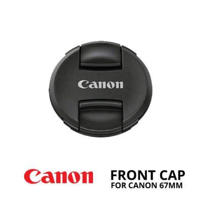 jual Front Cap Canon 67mm