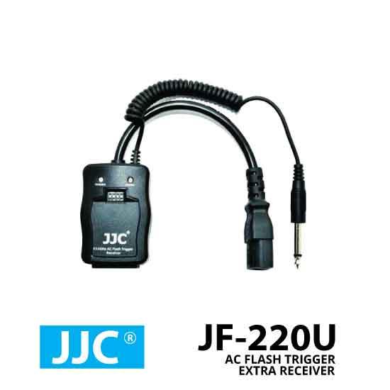 jual JJC AC Flash Trigger JF-220U Extra Receiver