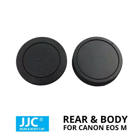 jual JJC Rear & Body Cap For Canon EOS M Mount