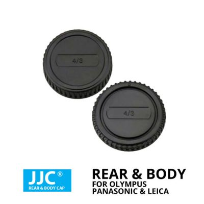 jual JJC Rear & Body Cap For Olympus, Panasonic & Leica