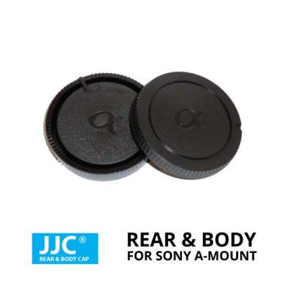 jual JJC Rear & Body Cap For Sony A-Mount