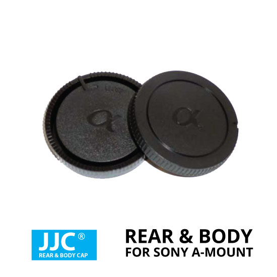 jual JJC Rear & Body Cap For Sony A-Mount