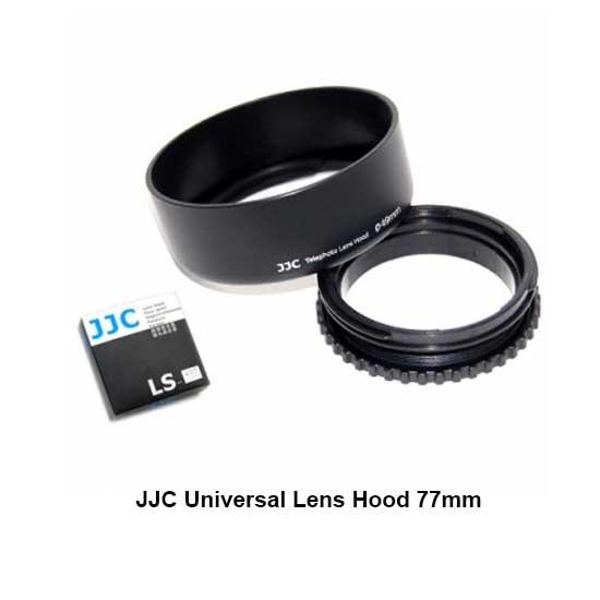 Jual JJC Universal Lens Hood 77mm