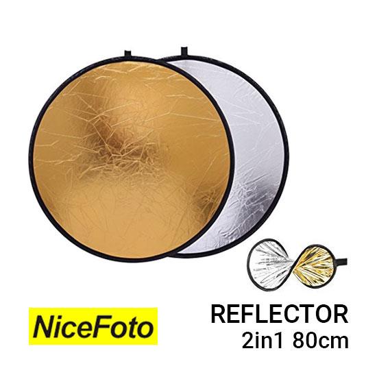 Jual NiceFoto Reflector 2in1 80cm Harga Murah