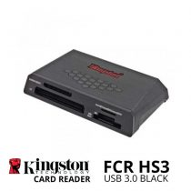 jual Kingston USB 3.0 Card Reader FCR HS3 Black