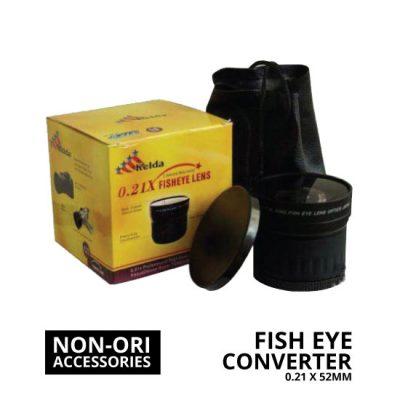 jual Lens Fish Eye Converter 0.21x 52mm