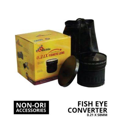 jual Lens Fish Eye Converter 0.21x 58mm
