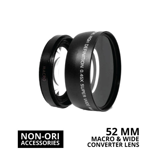jual Lens Wide Macro Converter 52mm