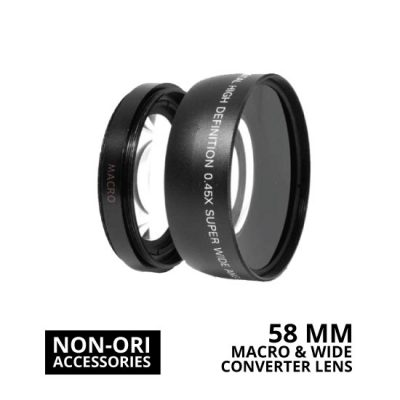 jual Lens Wide Macro Converter 58mm