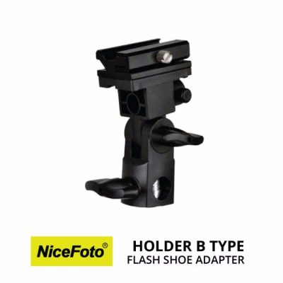 jual NiceFoto Flash Shoe Holder Tipe B