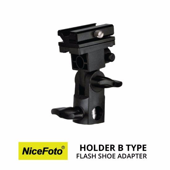 jual NiceFoto Flash Shoe Holder Tipe B