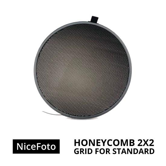 jual NiceFoto Honeycomb Grid For Standard Reflector 2x2