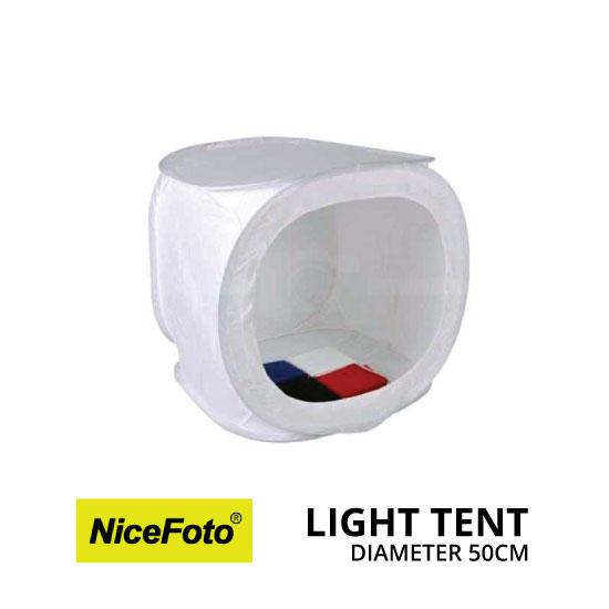 jual NiceFoto Light Tent 50cm HQ