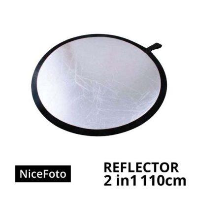 jual NiceFoto-Reflector-2in1-110cm