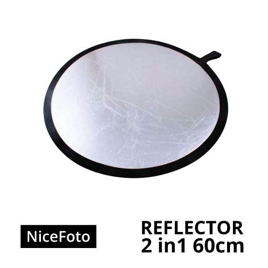 jual NiceFoto Reflector 2in1 60cm