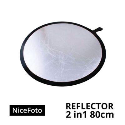 jual NiceFoto Reflector 2in1 80cm
