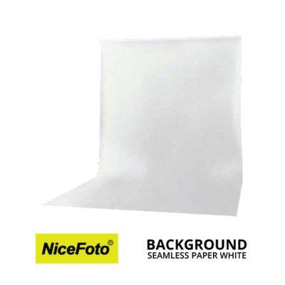 jual NiceFoto Seamless Background Paper Putih