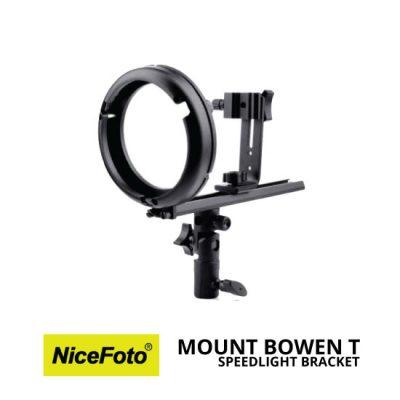 jual NiceFoto Speedlight Bracket Mount Bowen T