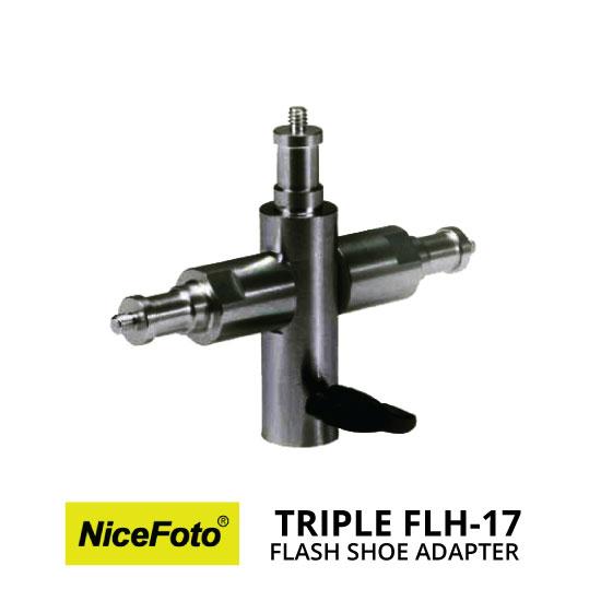 jual NiceFoto Triple Flash Adapter FLH-17