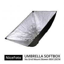 jual NiceFoto Umberella Softbox No Grid Mount Bowen 80x120