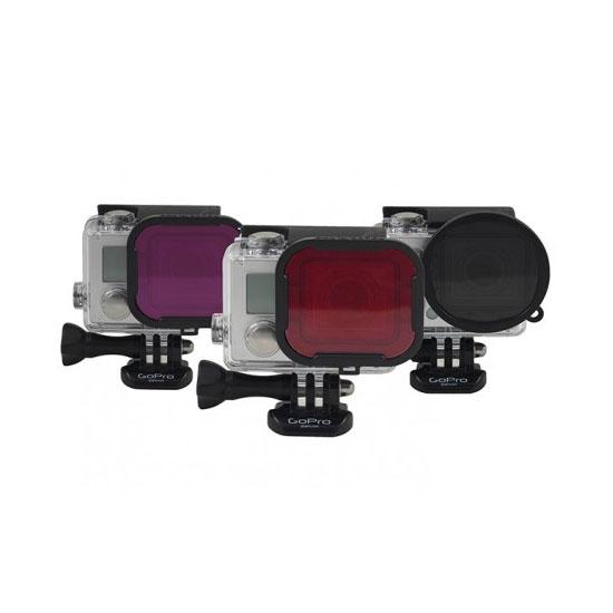 PolarPro Standard Housing 3 Pack Polarized-Red-Magenta