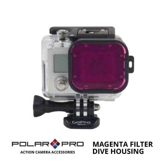 jual PolarPro Dive Housing Magenta Filter