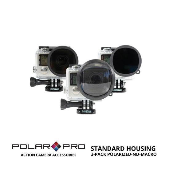 jual PolarPro Standard Housing 3 Pack Polarized-ND-Macro