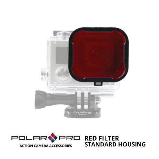 jual PolarPro Standard Housing Red Filter