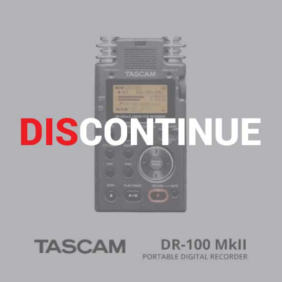 Thumb TASCAM DR-100MKII discontinue