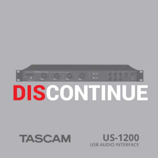 Thumb TASCAM USB Audio Interface US-1200 discontinue