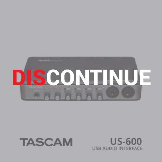 Thumb TASCAM USB Audio/Mini Interface US-600 discontinue