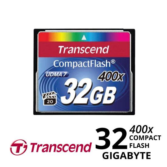 jual Transcend CompactFlash 400x 32GB