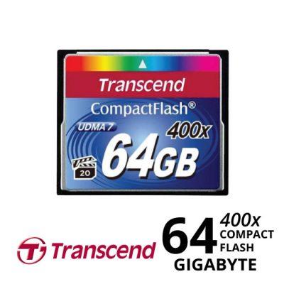 jual Transcend CompactFlash 400x 64GB