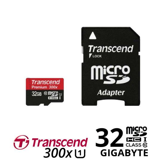 jual Transcend MicroSDHC 300X 32GB