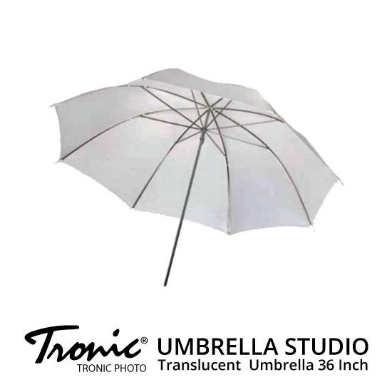 jual Payung Studio - Tronic Umbrella Translucent 36inch