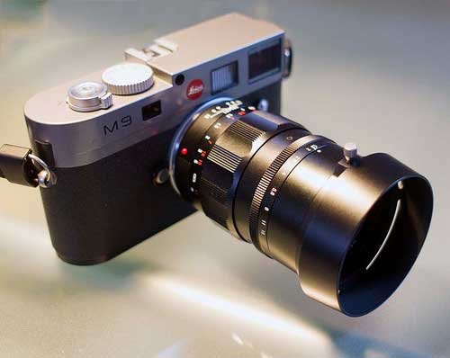 jual Voigtlander 75mm f1,8 Heliar for Leica M