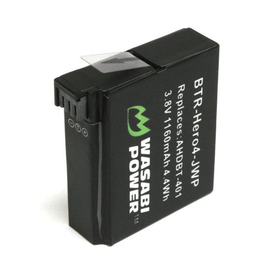 Wasabi Power Kit GoPro HERO4 dan GoPro AHDBT401