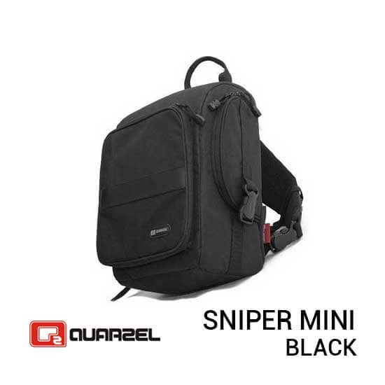 jual tas Quarzel Sniper Mini Black harga murah surabaya jakarta