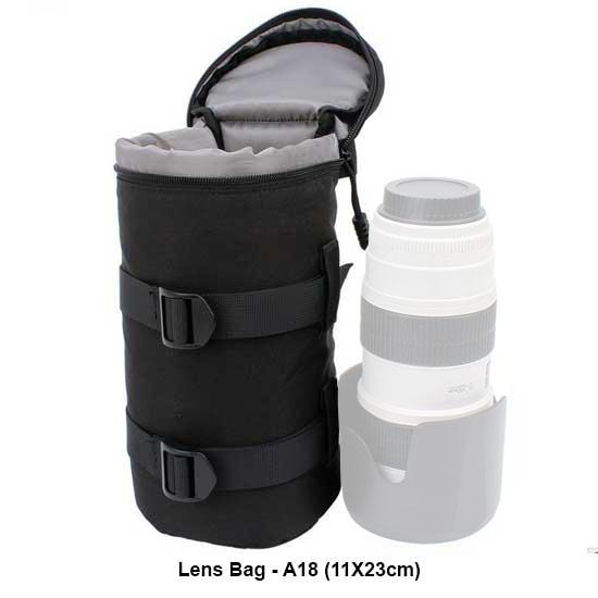 Jual Lens Bag - A18 (11X23cm)