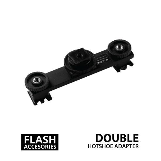 jual Double Hotshoe Adapter