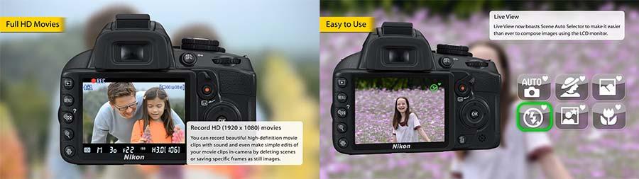 jual Nikon D3100