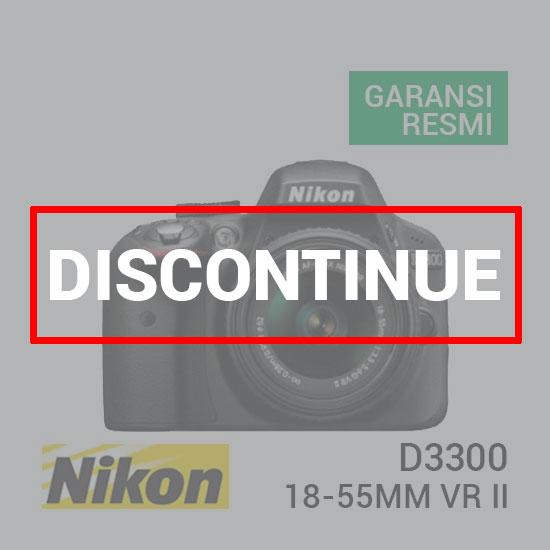 Nikon D3300 Kit AF-S 18-55mm VR II
