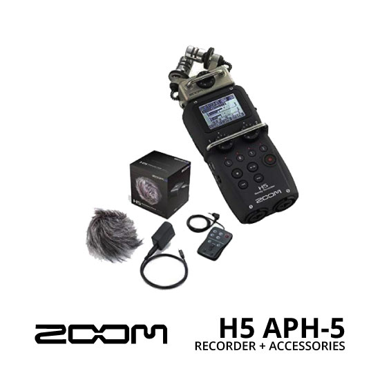 jual ZOOM H5 Recorder + APH-5 Accessory