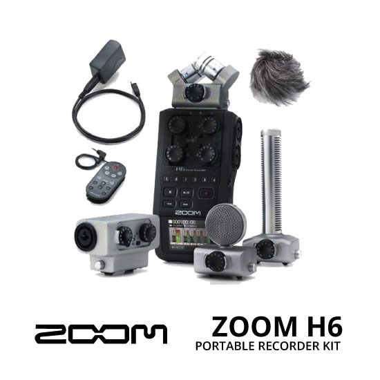 jual ZOOM H6 + SGH-6 + MSH-6 + APH-6 + EXH-6