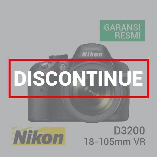 jual kamera Nikon D3200 Kit AF-S 18-105mm VR harga murah surabaya jakarta