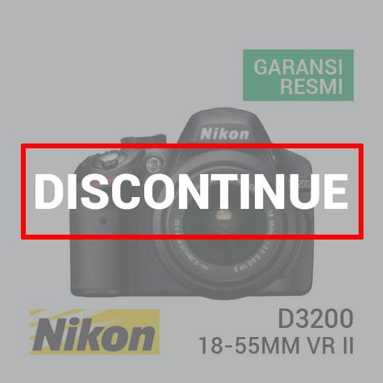 jual kamera Nikon D3200 Kit Lensa AF-S 18-55mm VR II harga murah surabaya jakarta