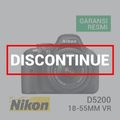 jual kamera Nikon D5200 Kit AF-S 18-55mm VR Black harga murah surabaya jakarta